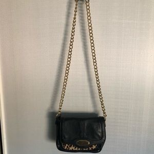 Kate Landry purse with gold chain